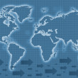 World map — Stockfoto #7710599