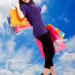 Girl shopping — Stock Photo #7710614