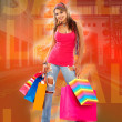 Shopping woman — Stock Photo #7710620