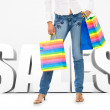 Shopping sales - Stock Photo
