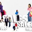 Shopping sales — Stock Photo #7710626