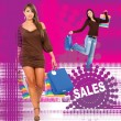 Fashion sales - Stok fotoraf