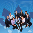 Global business team — Stock Photo #7710659