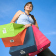 Girl with shopping bags — Stock Photo #7710692