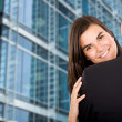 Royalty-Free Stock Photo: Business hug