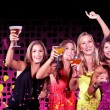 Girls night out - Stock Photo