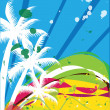 Beach illustration — Stock Photo #7710729
