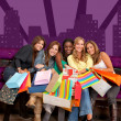 Shopping girls — Stock Photo #7710782