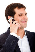 Businessman on the phone — Stock Photo