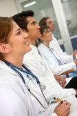 врачи в больнице — Стоковое фото