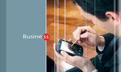 Comunicazioni aziendali — Foto Stock