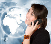 Global communications — Stock Photo