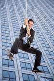 Salto di affari — Foto Stock