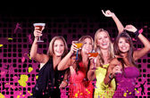 Girls night out — Stock Photo