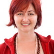 Woman with red hair — Stock Photo