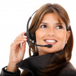 Customer support operator — Stock Photo #7731037