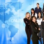 Worldwide Business women — Stock Photo #7731153