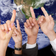 Stock Photo: Global participation