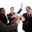 Royalty-Free Stock Photo: Business toasting