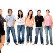 Group of students — Stock Photo #7731431