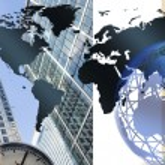 Worldwide business illustration — Stock Photo