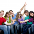 Happy group of — Stock Photo #7731562
