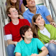 Group of on the stairs — Stock Photo #7731568