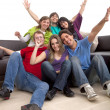 Happy group of friends — Stock Photo #7731604