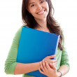Female student smiling — Stock Photo #7731642