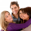 Happy group of friends — Stock Photo #7731852