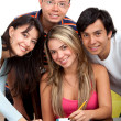Group of studying — Stock Photo #7731942