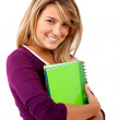 beautiful student — Stock Photo #7731955