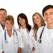 Royalty-Free Stock Photo: Group of young doctors