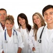 Group of young doctors — Stock Photo