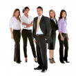 Business man among business women — Stock Photo #7731979