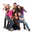 Casual group of friends — Stock Photo #7732023