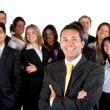 Group of business — Stock Photo #7732061
