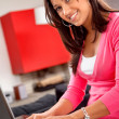 Woman working at home — Foto de Stock   #7732134