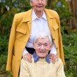 Elderly couple — Stock Photo #7732209