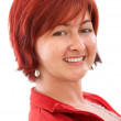 Woman with red hair - Stock Photo
