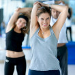 woman at the gym — Stock Photo #7732372
