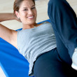 Womdoing abs — Stock Photo #7732507
