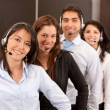 Customer support operators — Stock Photo