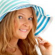 Stock Photo: Woman with a hat