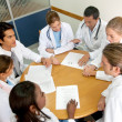Stock Photo: Doctors in a meeting