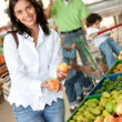 Woman at the supermarket — Stock Photo #7732716