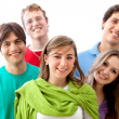 Young adults portrait — Stock Photo #7736236