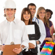 Stock Photo: Professions and occupations