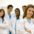 Foto Stock: Group of doctors