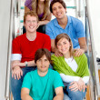 Group of friends smiling — Stock Photo #7736967